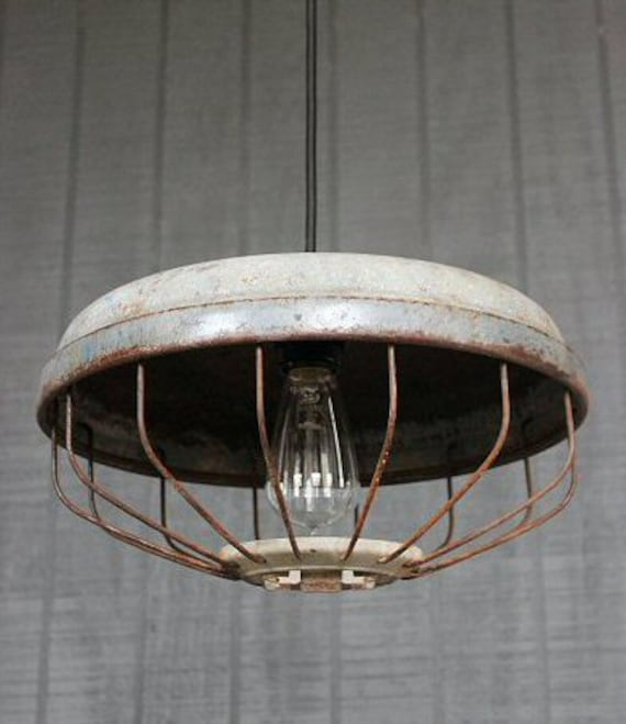 Items Similar To Rustic Light Pendant Lighting Pulley On Etsy: Items Similar To Vintage Industrial Pendant Lighting