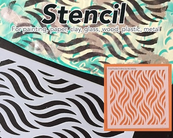 Stencil for Painting, Stencils for Art, Craft stencil, Wall Stencil, Temporary Tattoo, Stencil Pattern, Glass Etching Stencil, Scrapbooking