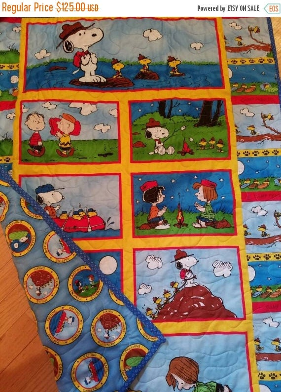 Snoopy Crib Quilt by QuiltsForU2