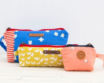 1313 Siomne Pouches (3 Style) PDF Sewing Pattern