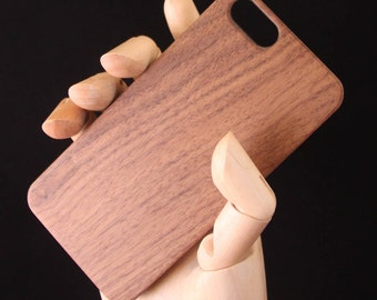 Iphone 6/6s Walnut Wood Phone Case - slim durable case - also fits iPhone 7