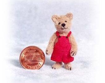 Buster ours Miniature ours en peluche Kit - motif - par Emily agriculteur