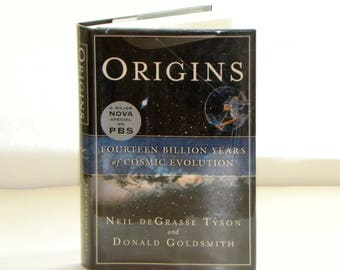 Origins - Neil deGrasse Tyson - signed 2004 first edition hardcover science book