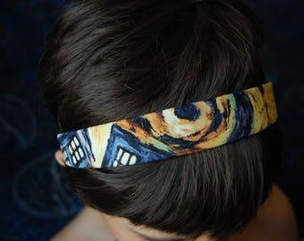 Police box headband 1 inch