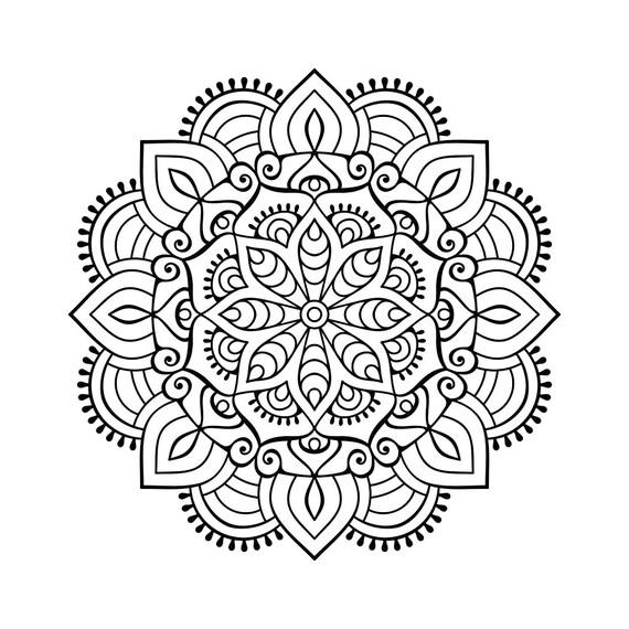 Mandala Graphics SVG Dxf EPS Png
