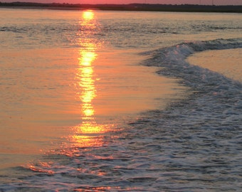 Fine Art Matted Photography, Shore Sunrise