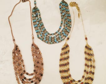 Tila Chain Link Necklace