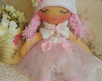 jouets - rag doll - poupée textile