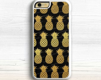 Gold iPhone 6 Case, Pineapple iPhone 5S Case, iPhone 5 Case, iPhone 6 Case Pineapple, iPhone 6 Plus Case, Gold iPhone 6S Case, iPhone 5C