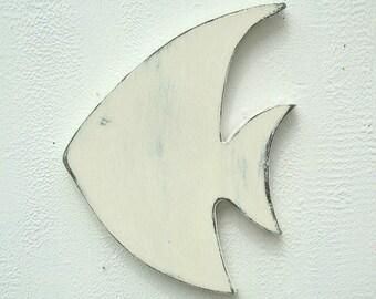 wood fish wall art