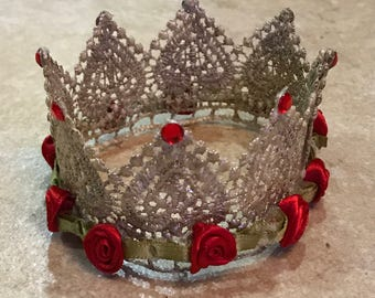 Beauty and the Beast crown
