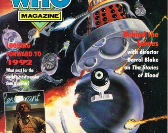 Doctor Who Magazine - # 182       1991