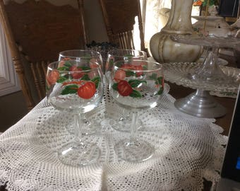 Franciscan Apple Wine/water Stem Goblets
