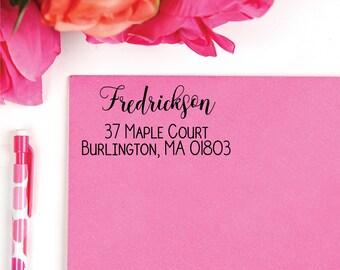 Address Stamp | Custom Stamp | Self-Inking Return Address Stamp | Personalized Address Stamp | Housewarming Gift | Invitation & Wedding