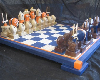 Sports themed Chess Sets by Jim Arnold