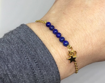 Thin bracelet my little star by Manaka.lab