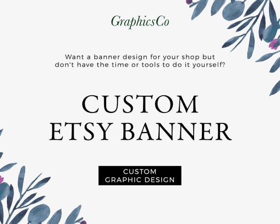 Branding kit banner design etsy cover photo floral banner design branding kit banner design etsy cover photo floral banner design banner personalized custom cover image professional cover etsy avatar cover from graphicsco solutioingenieria Image collections