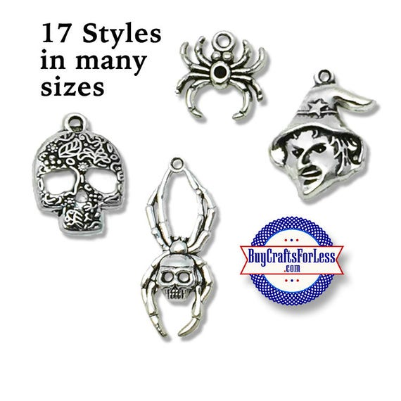 HALLOWEEN Charms, SEVERAL Sizes and Styles! +FREE Shipping & Discounts*