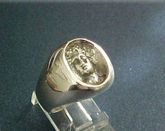 Apollo, God of music and arts man's ring
