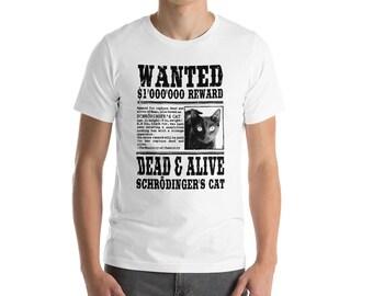 Schrödinger's Cat Wanted T-Shirt