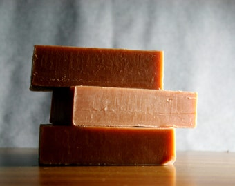 Soap - French Red Clay Soap - Facial Soap, Natural Handmade Soap - Essential Oil Soap