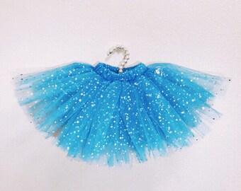 Tutu blue Gift tutu Pattern skirt Blue skirt Gift for infant Baby skirt 0-3 months skirt Photo session skirt Blue skirt Babygirl skirt