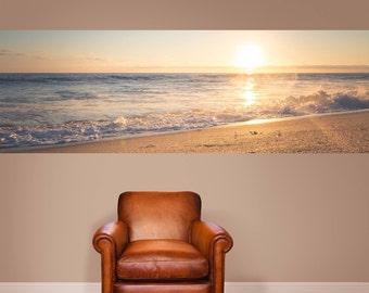Seashore Panel Print | Adhesive Wallpaper | Ocean Print | Ocean Art | Beach Print | Beach Art | Wall Mural