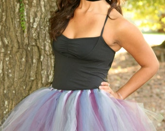 Mal Descendants Disney Inspired Tutu Costume Running Tutu