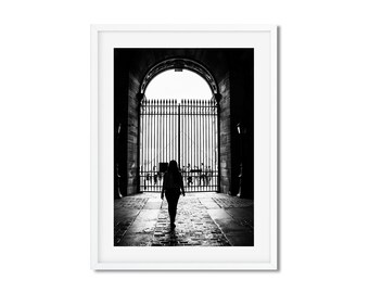 Fine Art Photography of the Pyramid of Louvres in Paris - Canvas Print of Paris - France - Wall Decoration - Travel