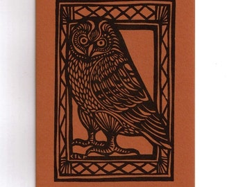6 card set- Pueo the Hawaiian Owl