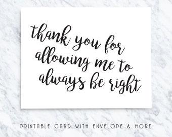 printable valentines card, digital valentines card, printable vday card, funny vday card, boyfriend card, husband card