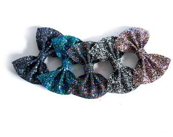 Medium Glitter Hair Bow - Pick N Mix