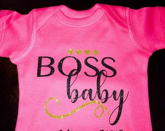 Boss Baby Making Moves, Baby Onsie, Baby Outfit, Baby