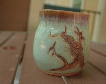 Ceramic Caterpillar Mug