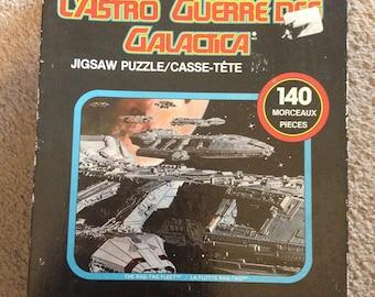 Vintage Parker Bros. Battlestar Galactica Jigsaw Puzzle 140 Piece