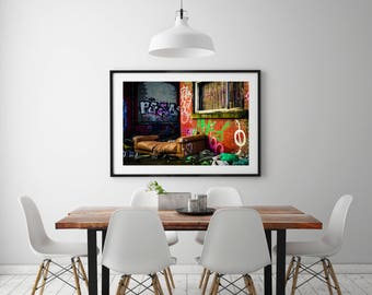 Make Yourself Comfortable - Premium Quality – Wall Art - Giclée Print – Urban Art - Martin Sylvester - Sylvo81