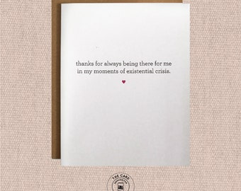 funny mothers day card, existential crisis, happy mothers day witty mothers day cards, mothers day from son, mothers day from daughter