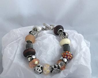 One-of-a-Kind Charm Style Bracelet