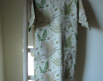Cotton dress for woman - Spring meadow