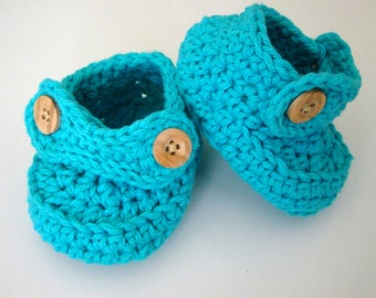 baby shoes - baby booties - loafers - crochet baby shoes - knit baby booties - knit crib shoes - crochet loafers - infant shoes -