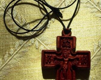 Wooden Orthodox Cross