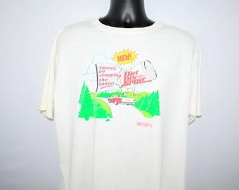 Vintage 90s Americas Funniest Home Videos ABC t shirt Size L Tom Bergeron Reality Blooper TV SwItfujgTJ