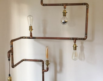 Copper Lamp structures