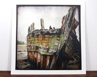 Shipwreck #8 - Britain - print expo 30 x 30 cm - signed and numbered
