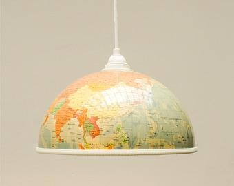 Globe lampshade