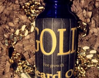 Gold Beard Oil ONLY