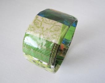 Mid-Spring Prints Bangle Bracelet