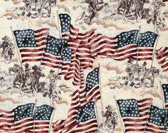 Flag of Freedom - Custom Made Scrub Tops Nursing Uniforms