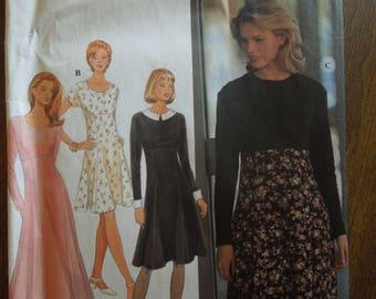 Simplicity 9752, sizes 6-10, misses, petite, dress, UNCUT sewing pattern, craft supplies