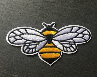 Bee Patch, iron on